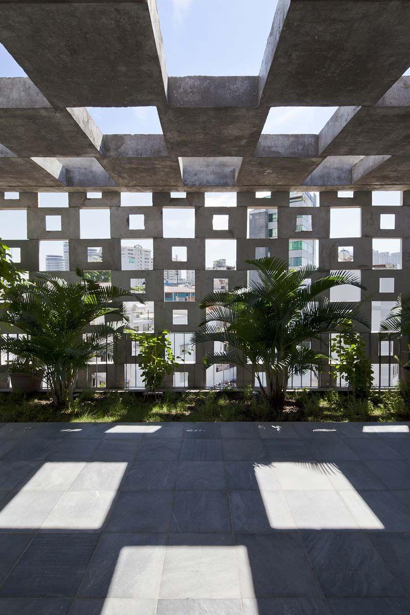 Binh Thanh House Vo Trong Nghia Architects Sanuki Nishizawa