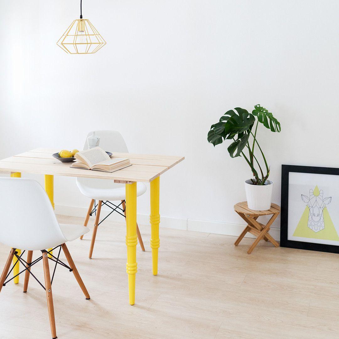 Pata Realizada En Madera Con Esta Pata De 70cm De Altura Podr S  # Customizar Muebles