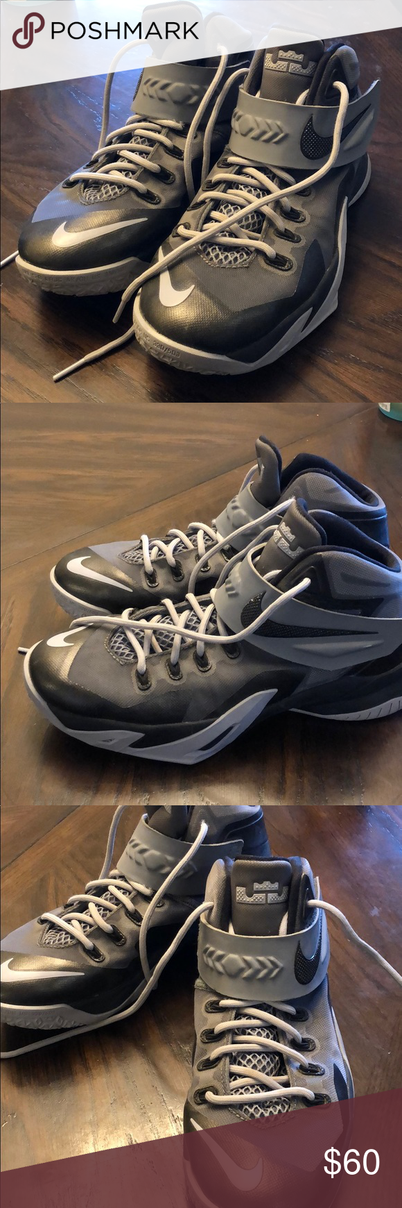 e77e9d137ae Nike Soldier VIII 8 Kids Lebron Basketball Shoes Nike Soldier VIII 8 653645-008  Kids