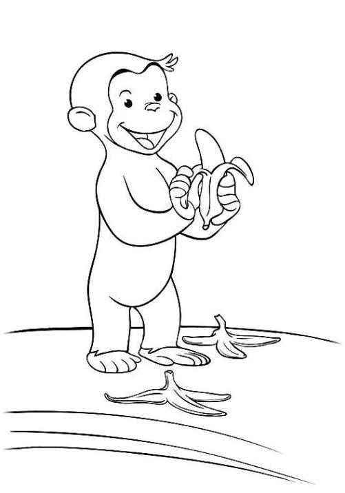 Coco Der Neugierige Affe 21 Coloring 5 Pinterest Coloring