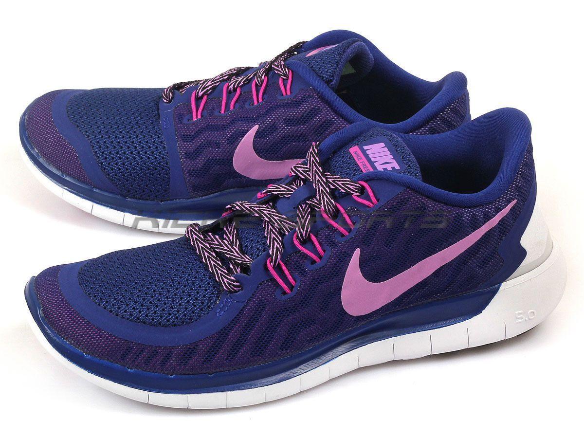 Nike Wmns Free 5.0 Deep Royal BlueFuchsia Glow Fuchsia