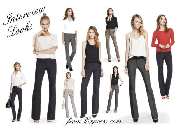 Interview Looks from Express | Style & Fashion | www.tequilacupcakes.com