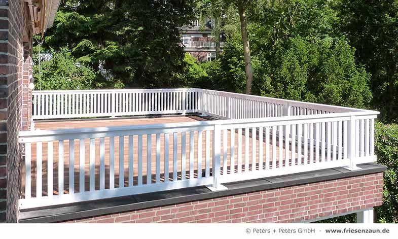 balkongel nder wei wetterfest 25 jahre garantie. Black Bedroom Furniture Sets. Home Design Ideas