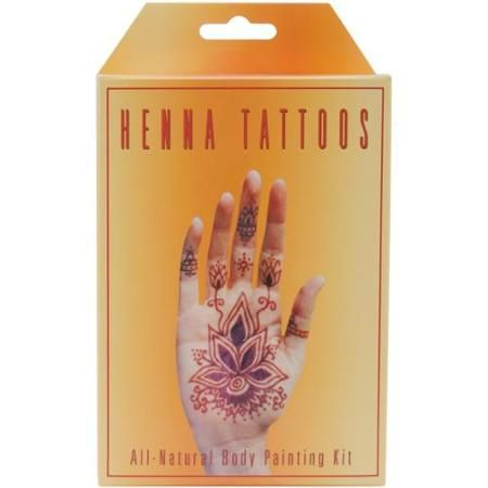 Earth Henna Body Painting Kit Walmart Com Dream Henna Henna