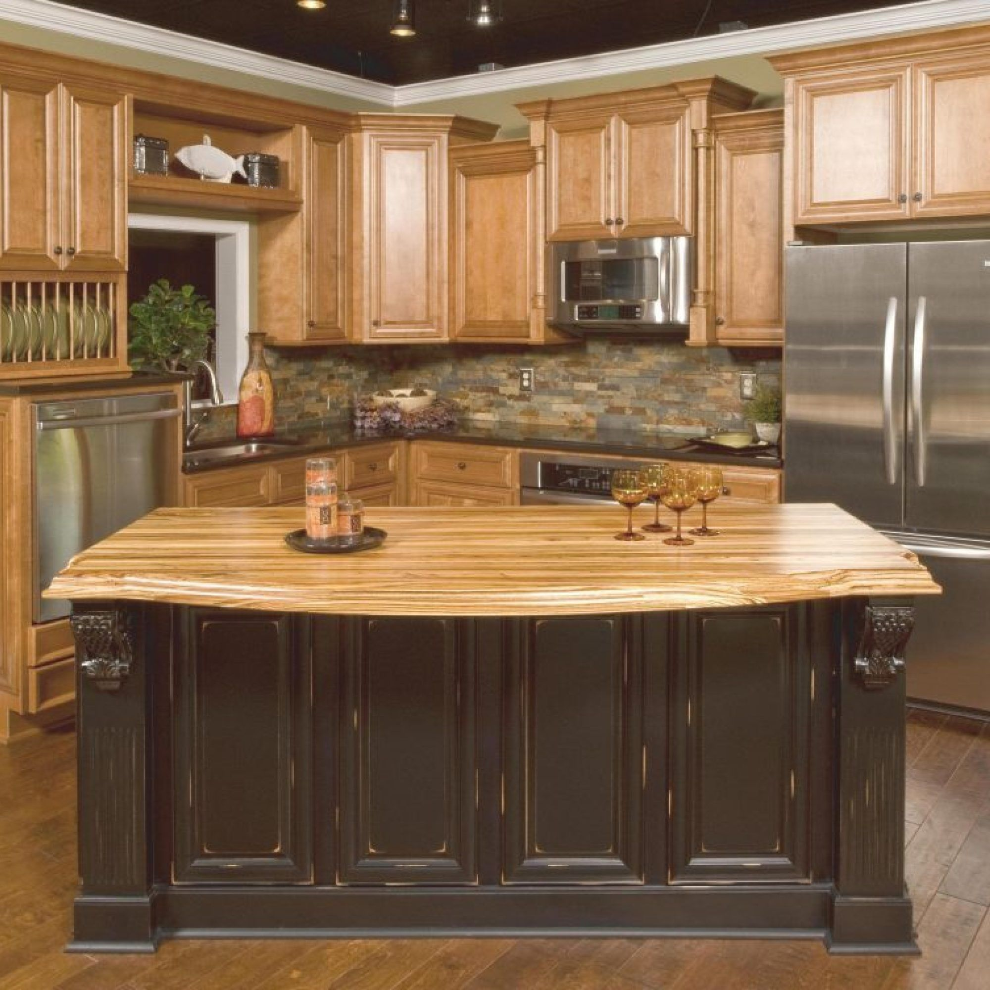 40+ Light Wood Kitchen Cabinets Rustic No Longer a Mystery ...