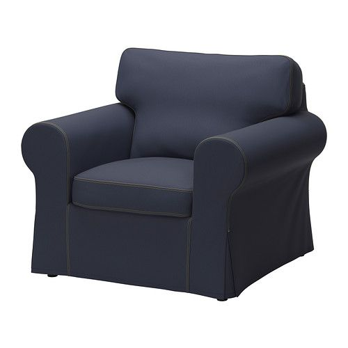 ektorp housse de fauteuil jonsboda bleu ikea baby 39 s bedroom pinterest fauteuil salon. Black Bedroom Furniture Sets. Home Design Ideas