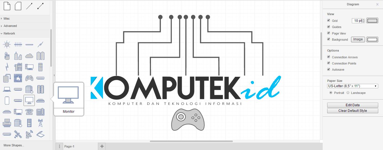 Aplikasi pengolah diagram gratis dengan segudang fitur komputekid aplikasi pengolah diagram gratis dengan segudang fitur ccuart Images