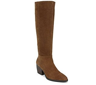 For a touch of classic Americana, these tall wide calf boots look great with practically everything! From Naturalizer.