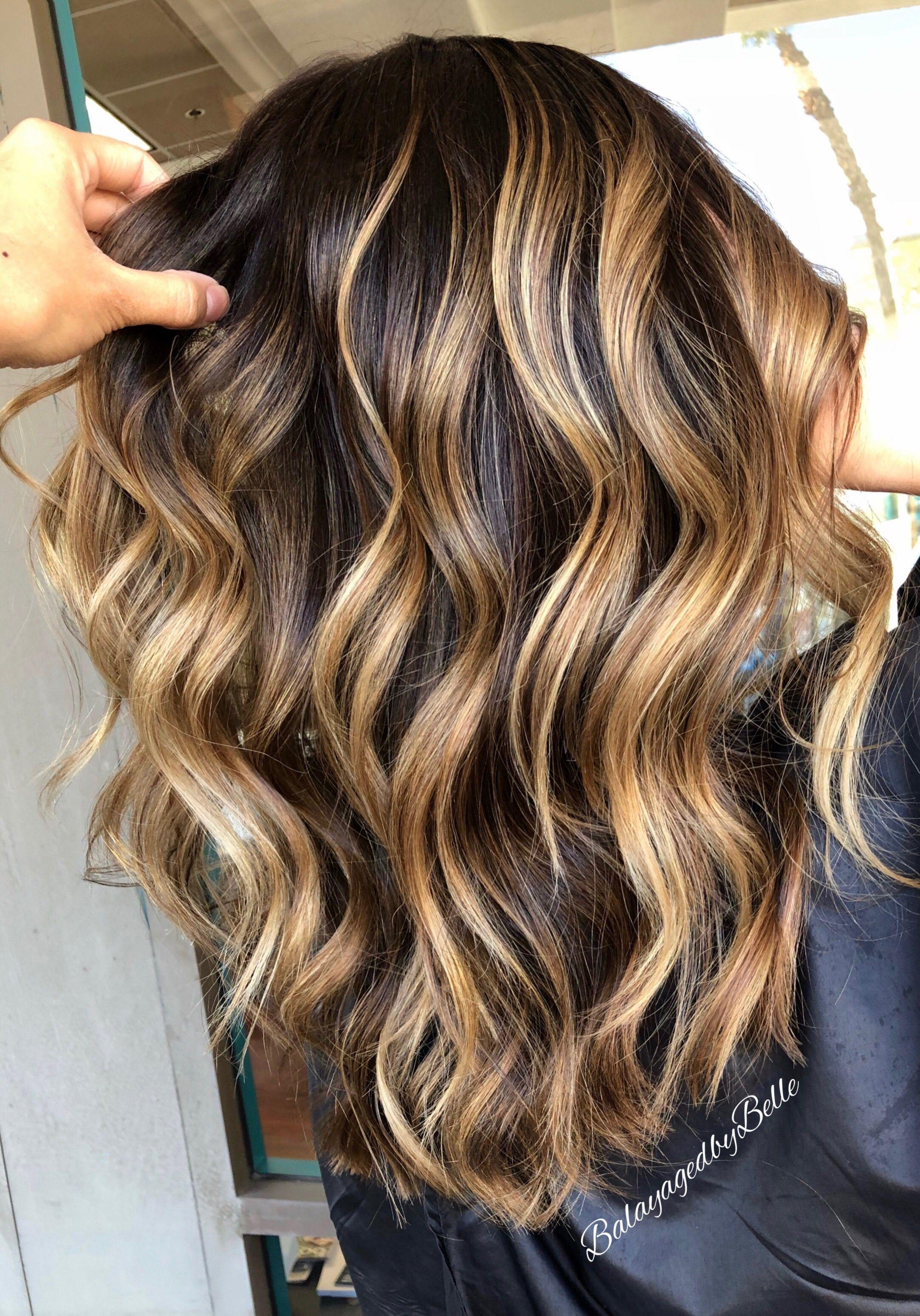 Brunette Balayage Balayage Hair Golden Highlights Brown Hair Balayage Brunette