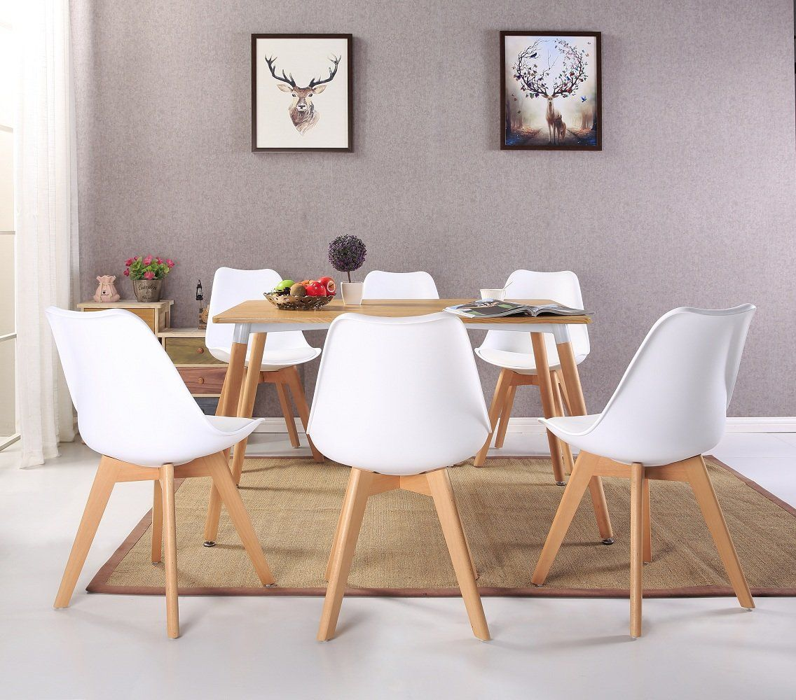 Set Of 4 Kitchen Chairs Set Of 4 Modern Accent Side Dining Chair Kitchen Chairs