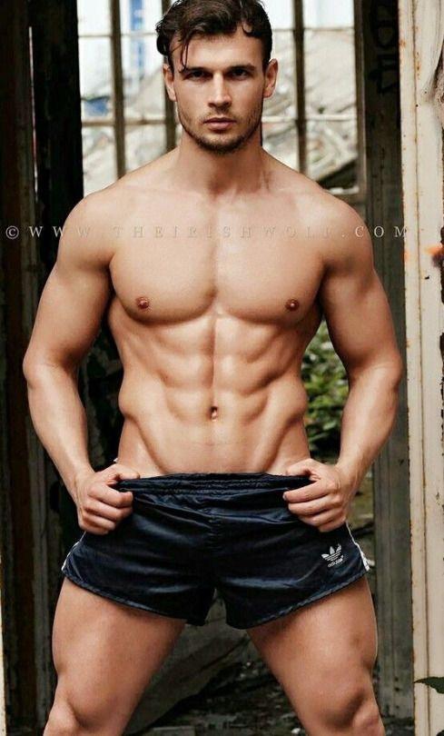 Sexy and shirtless men