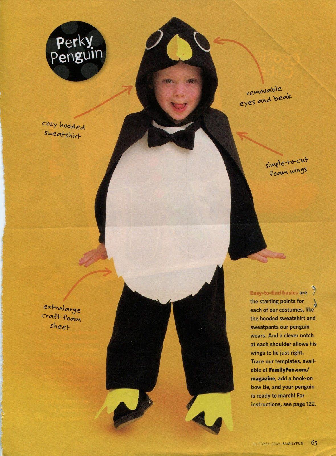Alltogetherchanin Halloween Costume Penguin Parties Pinterest