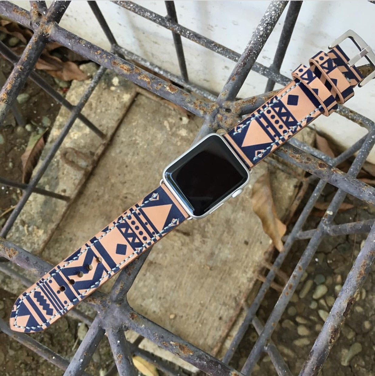 Apple Watch Straps Hand-Stitched Apple Watch Leather Band, Single Tour Watch Band, 42mm or 38mm Apple Watch Leather Band, Apple Watch Strap by RuslieStraps on Etsy https://www.etsy.com/listing/481321763/apple-watch-straps-hand-stitched-apple