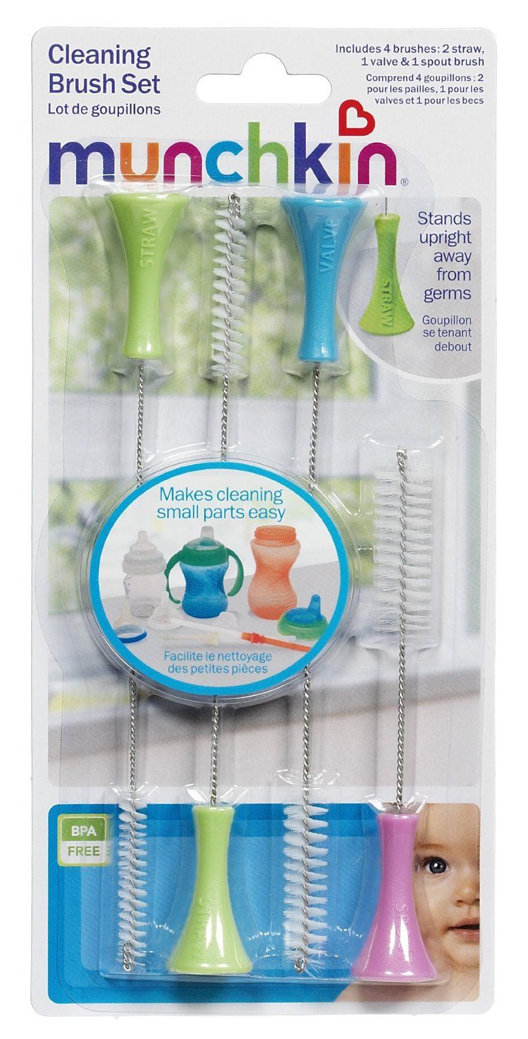 Nursery Time Baby Brush and Comb Set for Newborns and Toddlers Sky