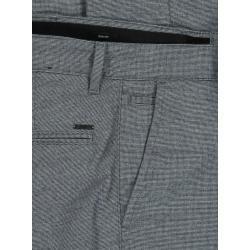 Photo of Pantaloni alla moda in look lana, vestibilità slim di Boss in blu per uomo Hugo Boss