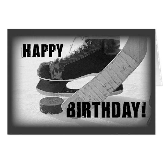 3816 Hockey Birthday Card Birthday Celebrations – Hockey Birthday Card