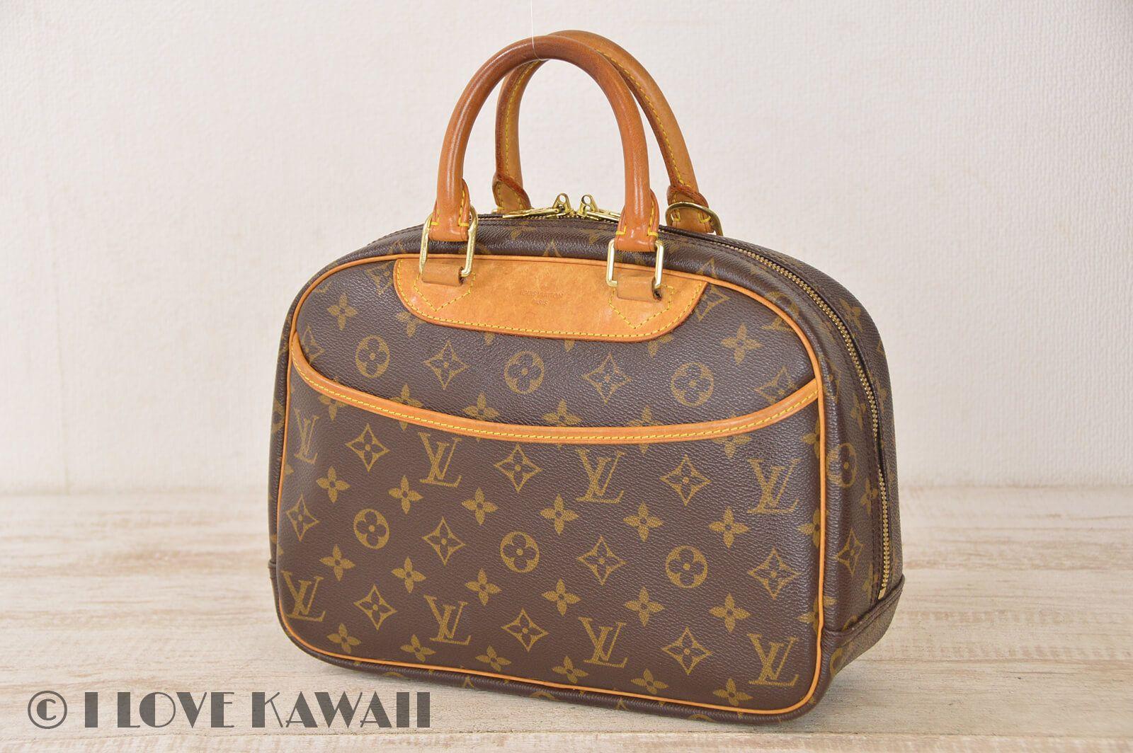 Louis Vuitton Monogram Trouville Hand Bag M42228