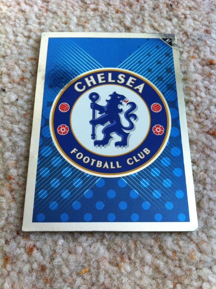Match Attax 2010/11 R7 Chelsea Emblem Logo Badge Shiny
