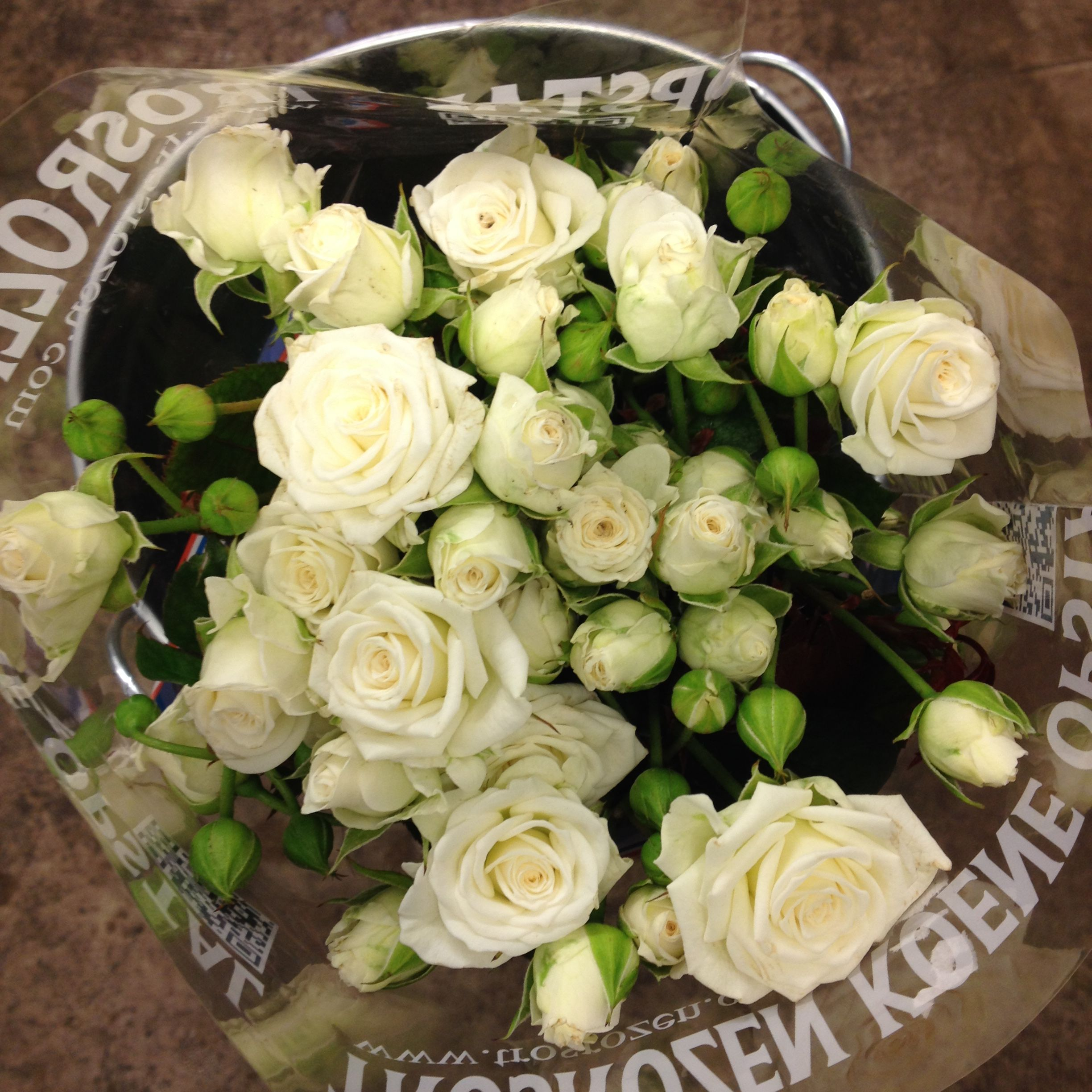 Home bulk roses peach roses - White Spray Roses White Lady Sold In Bunches Of 10 Stems From The Flowermonger