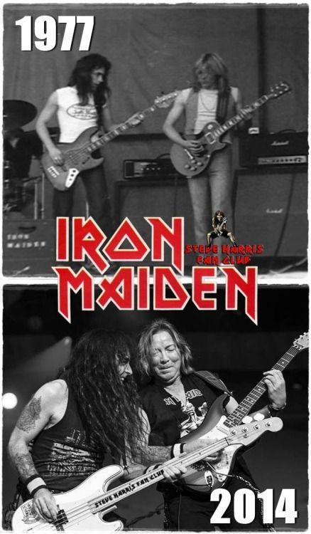 Steve Harris&Dave Murray  Then And Now