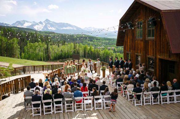colorado barn ranch wedding