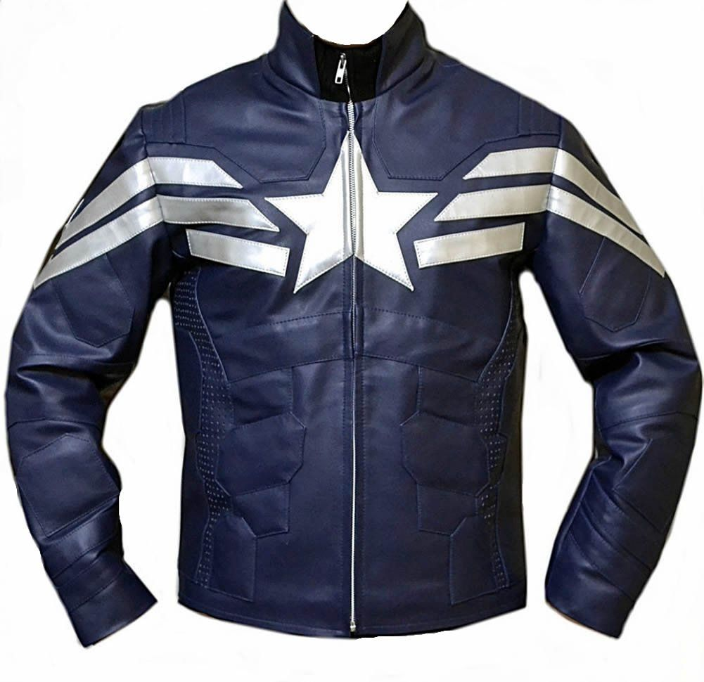 Xs-5xl Classyak Real Leather Moto Jacket