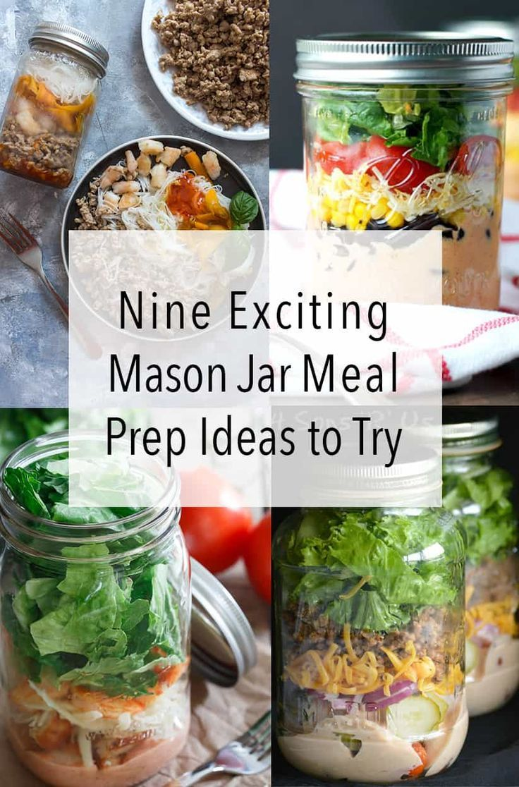 Here Are 9 Mason Jar Meals Recipes To Make This Weekend For Your Meal Prep