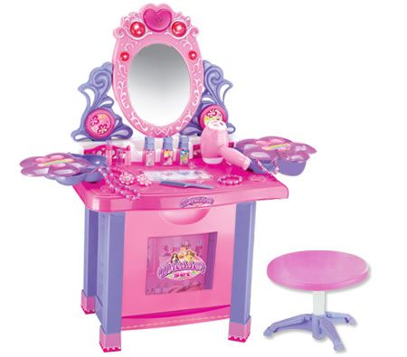 $49.98,Save $19.97 -  65cm x 50cm x 66cm approx  - Save on a Girl's Make Up Vanity Table Play Set and a huge range of Pretend Play at CrazySales.com.au,  Australia's award-winning online shop!