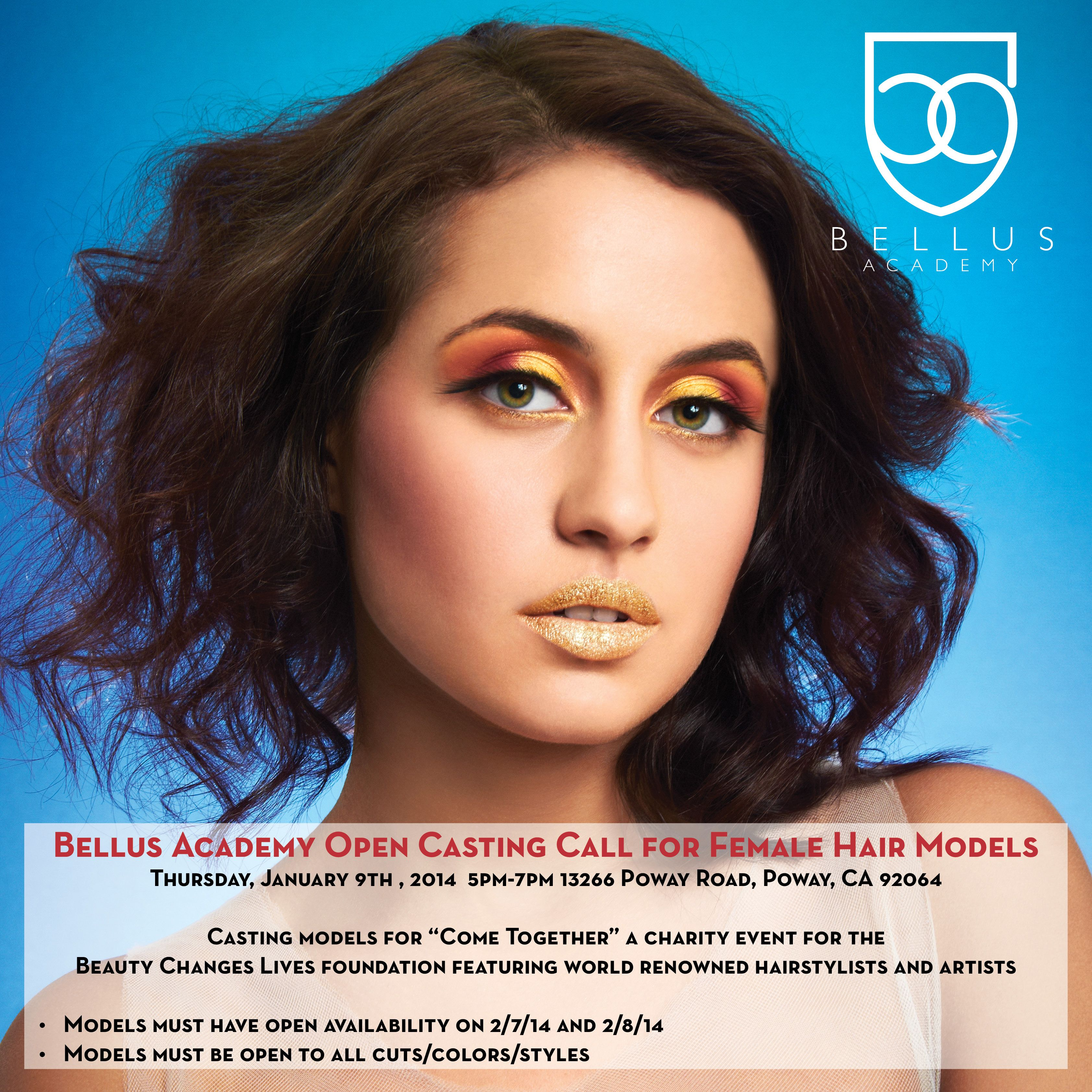 Hair Models Wanted! Bellus Academy Open Casting Call for ...
