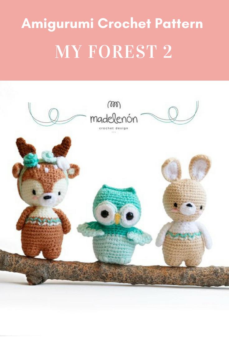 My Forest 2 | crochê | Pinterest | Croché, Amigurumi y Tejidos