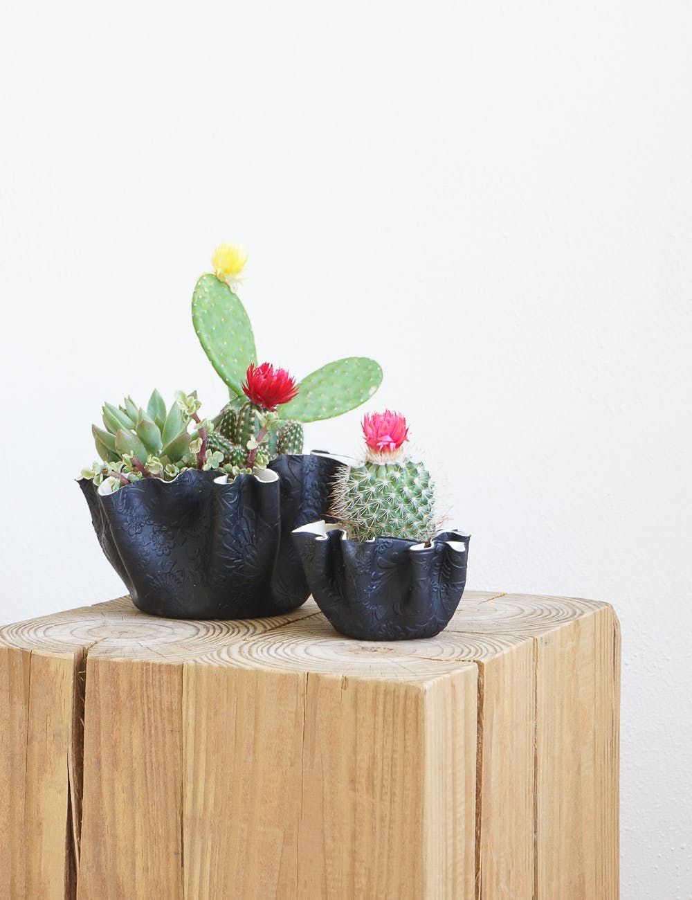 Make These Fabric Clay Planters For All Your Cute Cacti — Apartment Therapy Tutorials