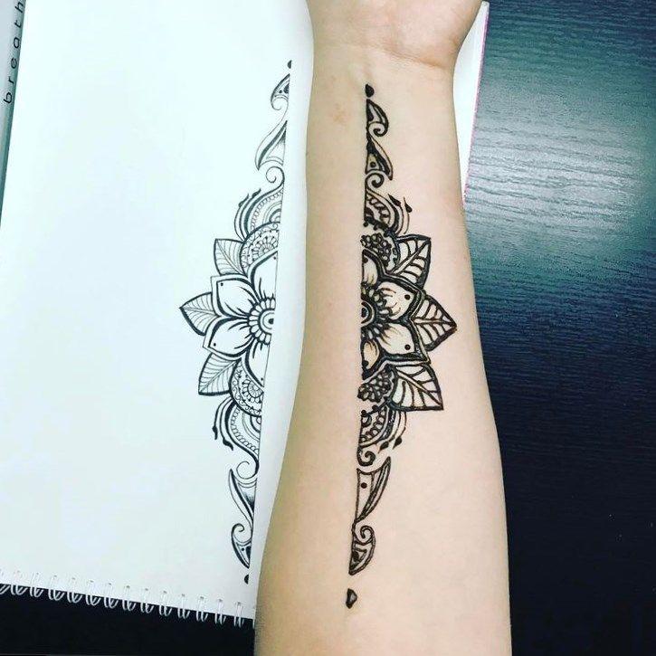 Hennatattoo tattoo girl with the dragon tattoo sequel for Dainty flower tattoos