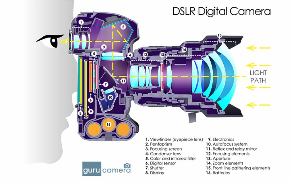 68b7550ebd3468f8b5b73e8257b63615 how dslr cameras work diagram dslr cameras in 2018 pinterest