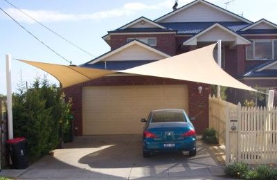Driveway Shade Sail Google Search House Pinterest