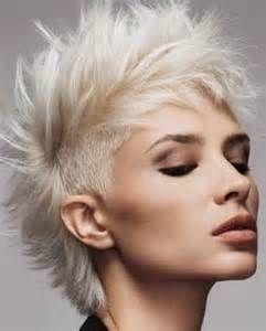 Irokesenfrisur Frauen Kurz Frisuren Pinterest Shorter Hair