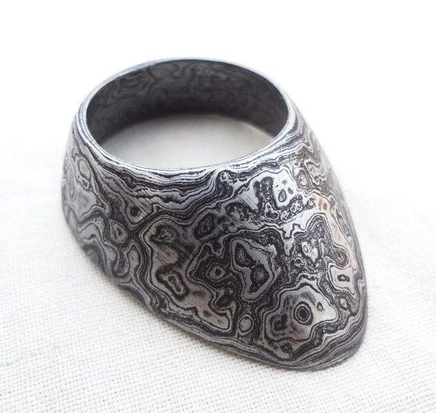 Mongolian Handmade Thumb Ring for ArcheryBrass