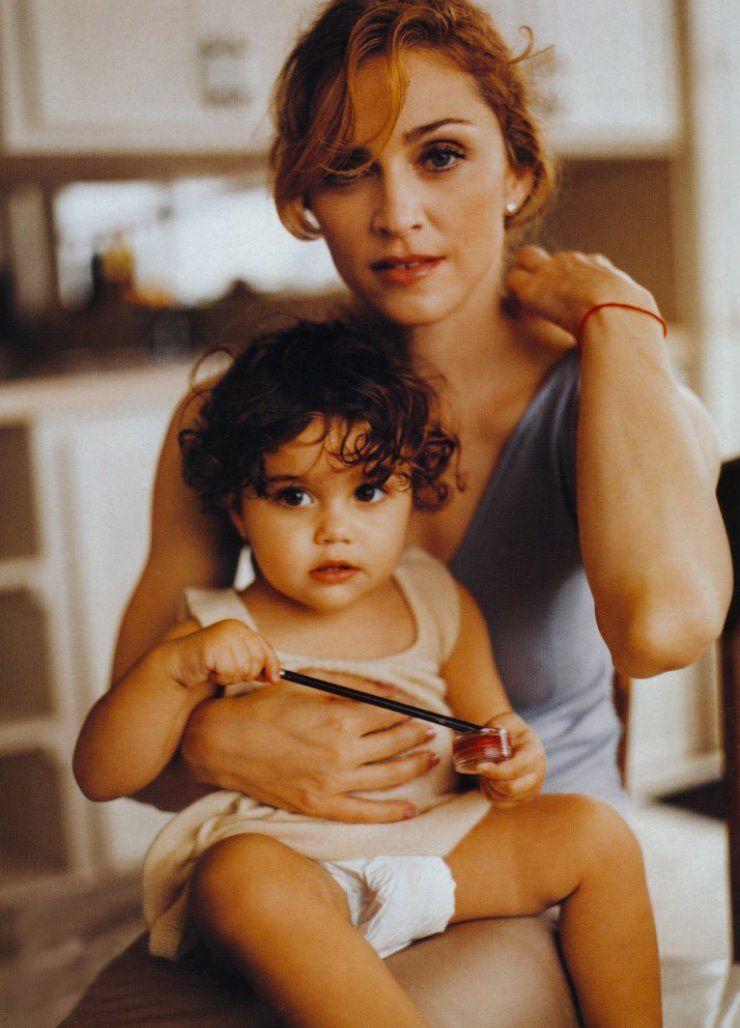 Madonna & Lourdes.