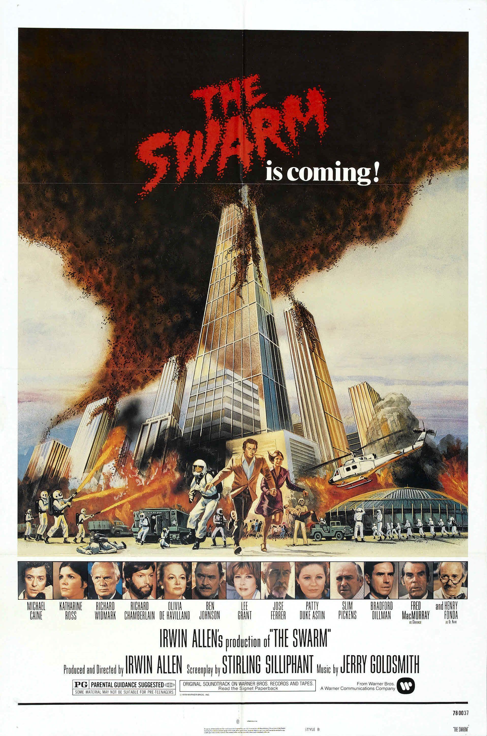 The Swarm 1978 Indie Movie Posters Horror Movie Posters Movie Posters