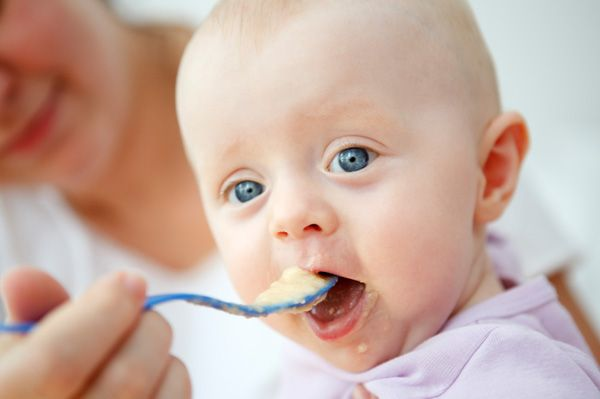 When Can Babies Eat More Advanced Foods Healthy Baby Food Baby First Foods Baby Solid Food