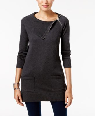 Jeanne Pierre Fitted Tunic Sweater   Outfits   Pinterest   Tunic ...