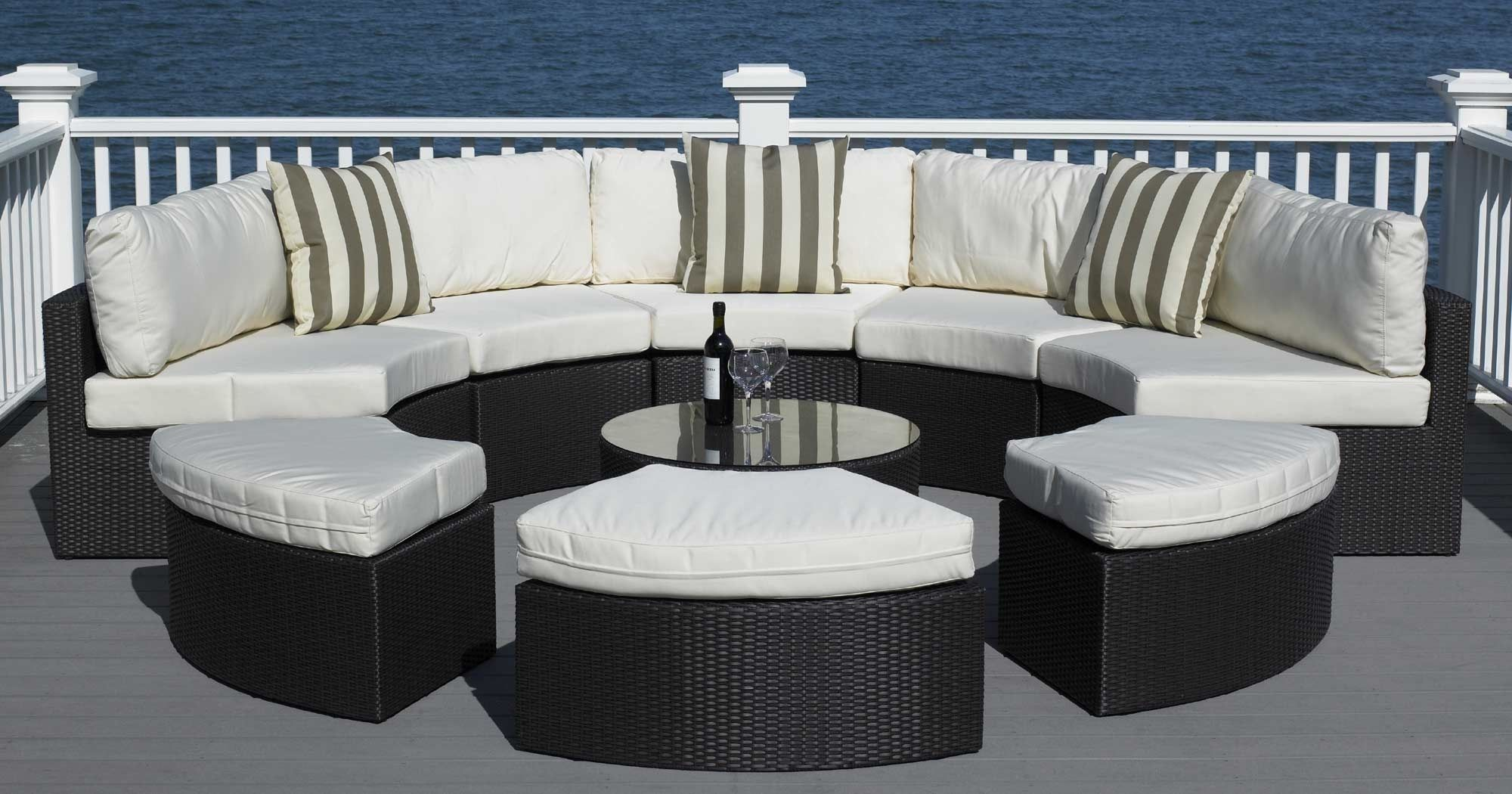 nice Trend Round Patio Furniture 37 With Additional Home Design ...