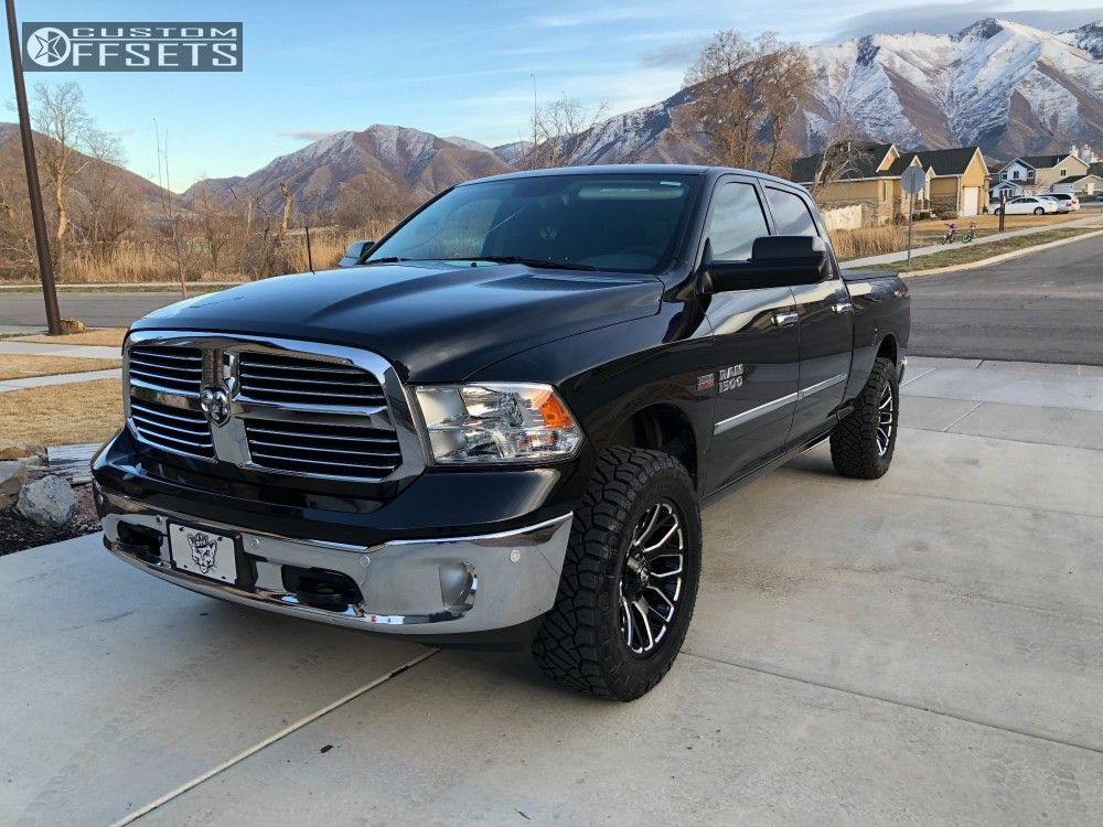 2 2016 1500 Ram Rough Country Leveling Kit Fuel Warrior