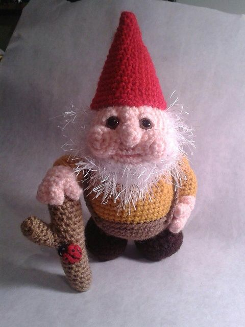 Ravelry: Gnome pattern by Jessica Boyer. | Cute toys - amigurumi ...