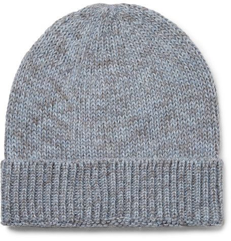 Layover Mélange Baby Alpaca And Organic Cotton-blend Beanie Outerknown WmAVp