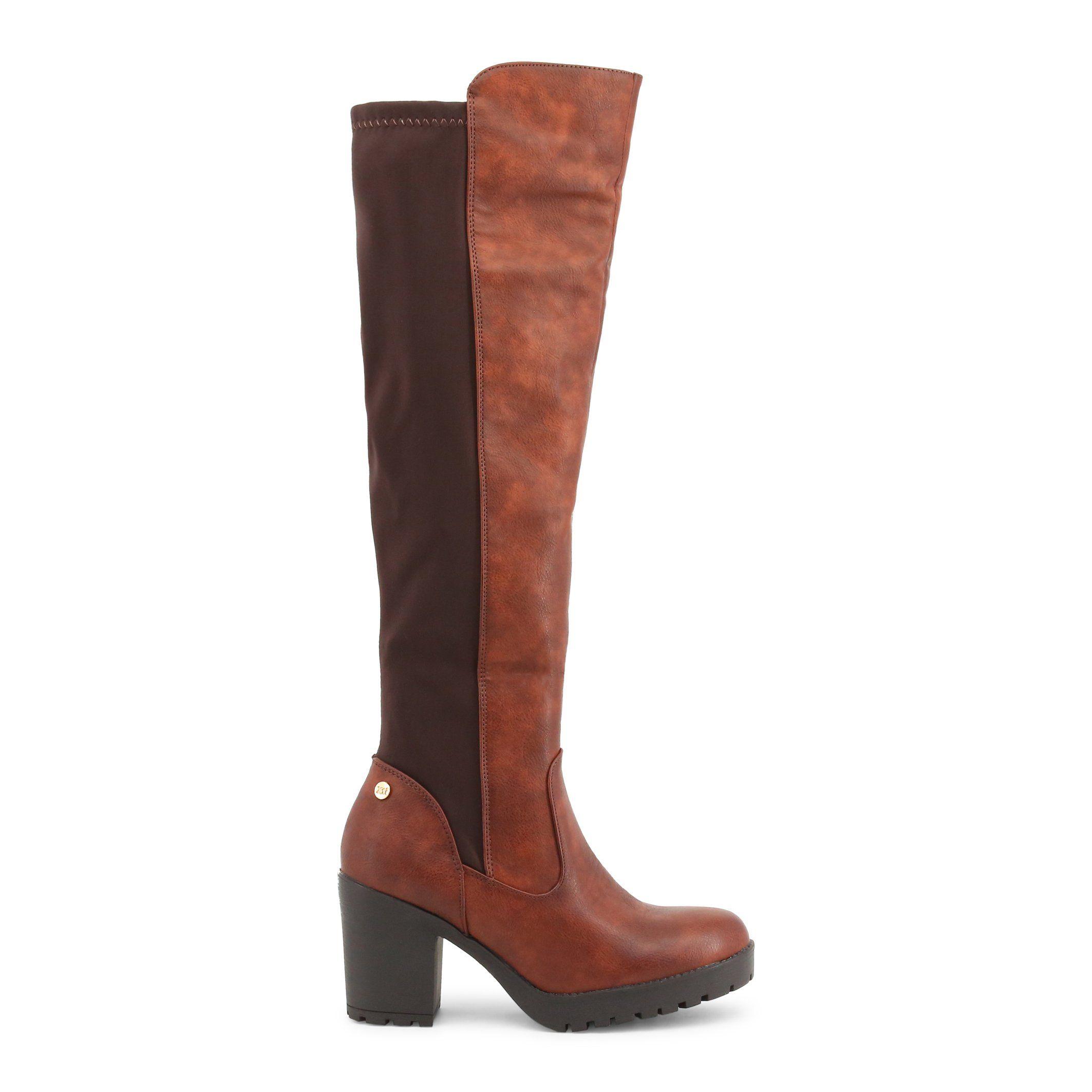 f206b998ce4 Xti Brown Boots Boot Heels