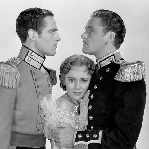 "viktor-sbor: ""Errol Flynn, Olivia de Havilland and Patric Knowles in THE  CHARGE OF THE LIGHT BRIGADE 1936 ""   Errol flynn, Errol, Olivia de havilland"