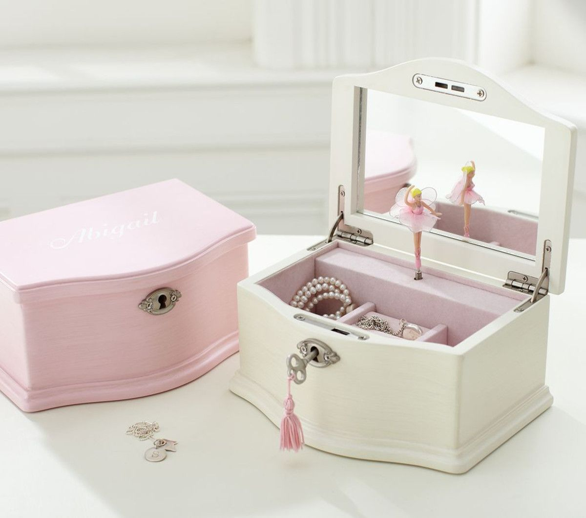 Abigail Medium Jewellery Box With Images Large Jewelry Box
