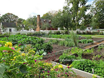 Colonial Quills Colonial Kitchen Gardens By Cynthia Howerter Colonial Garden Kitchen Garden Vegetable Garden Planner