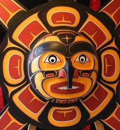 Haida Sunbird Mask
