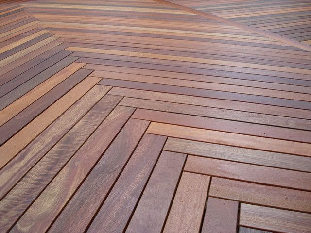 Herringbone Deck Pattern Outdoor Tiles Timber Deck Deck Flooring
